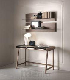 ABACO dizajnový písací stôl masív/sklo P&C
