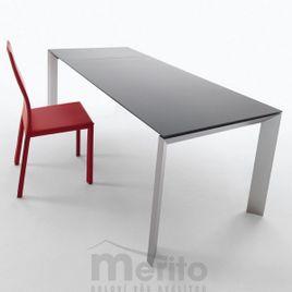 APOLLO Jedálenský stôl s rozťahovaním melamin/kov MIDJ