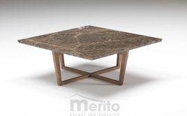 CITY dizajnový konferenčný stolík 80 x 80 cm P&C