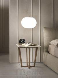 CITY dizajnový príručný stolík 50 x 50 cm P&C