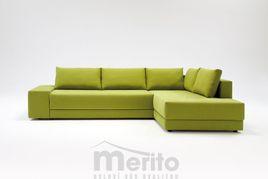 CONFETTO rohová sedačka Franz Fertig určená na každodenné spanie