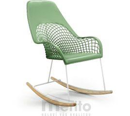 GUAPA DNA stolička hojdacia vysoká koža MIDJ