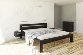 KLÁRA posteľ z masívu, Drevokom