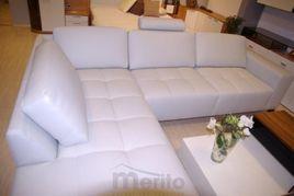 COSTA elegantná rohová exkluzívna kožená sedačka Recor
