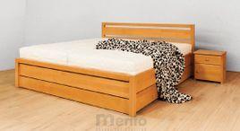 SOFIA UP posteľ z masívu s úložným priestorom, Drevokom