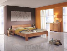 STELA posteľ z masívu hrúbky 4 cm, FMP