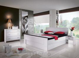 SANDRA posteľ masívu v hrúbke 3 cm, FMP