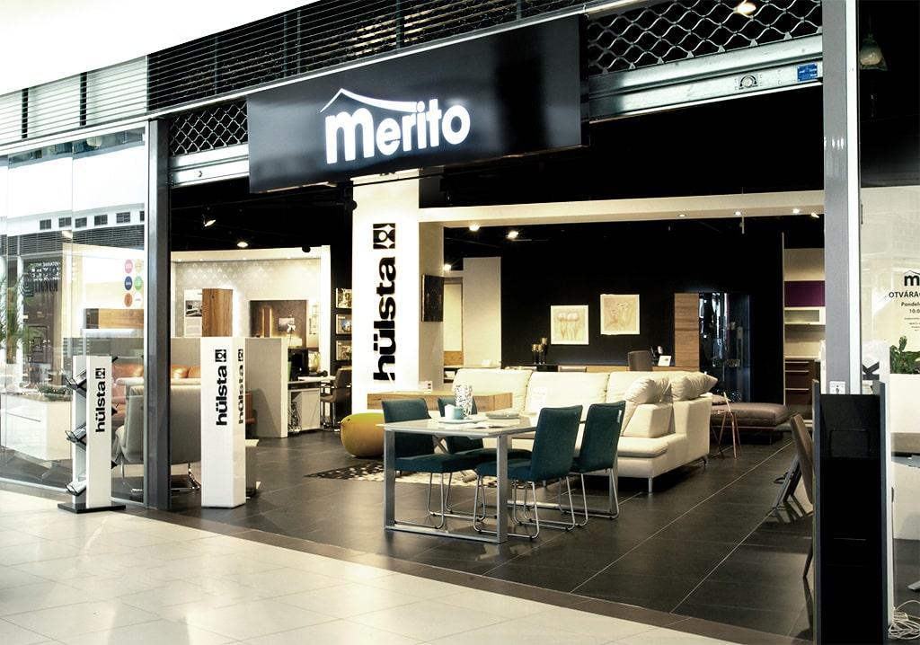 Predajňa Merito