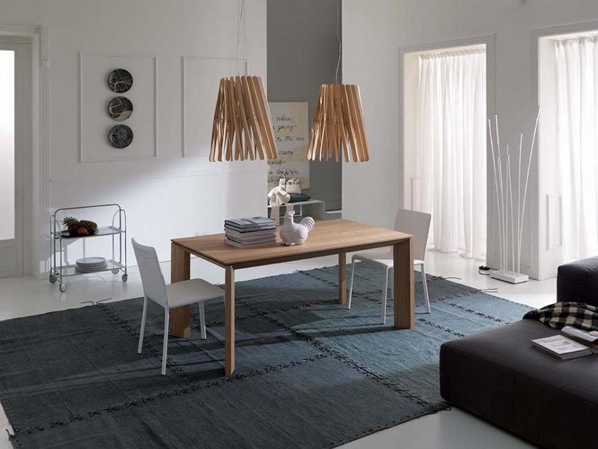 01ae5a1e5df5 MILANODUE Jedálenský stôl s rozťahovaním dubová dyha OZZIO - NÁBYTOK ...