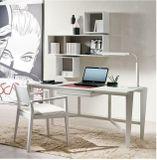 ATHOS dizajnový písací stôl s čalúnenou zásuvkou P&C