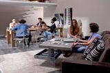 BELLAGIO konferenčný stolík multifunkčný OZZIO