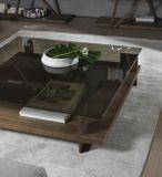 CORALLO konferenčný stolík dyha orech 140 x 70 cm P&C