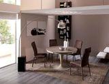ECLIPSE LEGNO Okrúhly jedálenský stôl s rozťahovaním OZZIO