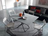 SECOND - konferenčný rozkladací stolík 2v1