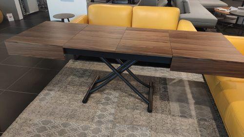 BOX LEGNO stôl multifunkčný 2v1 drevený rozťahovací výškovo nastaviteľný OZZIO Výpredaj