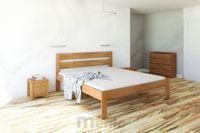 AGÁTA posteľ z masívu vysoká, Drevokom