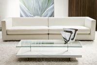 BANNER dizajnový konferenčný stolík sklo/dyha P&C