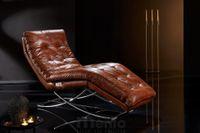CELLINI relaxačné lehátko polohovateľné Willi Schillig black label