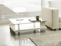 CORALLO konferenčný stolík dyha jaseň 85 x 85 cm P&C