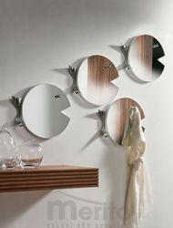 FISH zrkadlo s funkciou vešania P&C