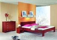LENA posteľ z masívu hrúbky 4cm