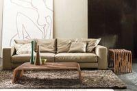 MILLERIGHE dizajnový nízky stolík z masívu P&C