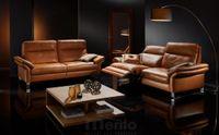 NABUCCO exkluzívna relaxačná sedacia súprava s polohovaním Willi Schillig black label