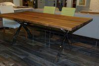 PORTOFINO dizajnový jedálenský stôl orech/chróm MIDJ Výpredaj