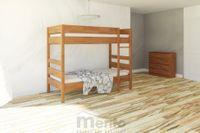 SAŠA posteľ z masívu 2v1 nízka/poschodová, Drevokom