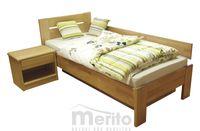 TINA posteľ z masívného dreva Fines