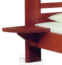VIOLA nočný stolík závesný masív, FMP
