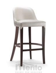 ALYSON dizajnová barová stolička SG masívne nožičky