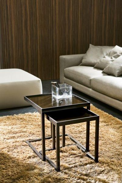 AMBO dizajnový príručný stolík masív P&C