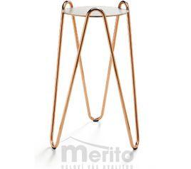 APELLE CHIC dizajnové konfernečné stolíky 3 rôzne výšky MIDJ