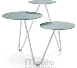 APELLE TRIO koza-keramika dizajnový konfernečný stolík MIDJ