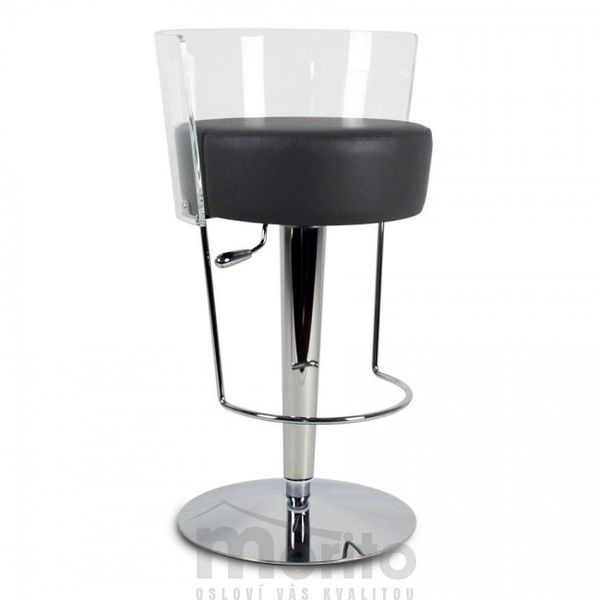 BONGO SG TS-MT barová stolička výškovo nastaviteľná plast/čalunenie Midj