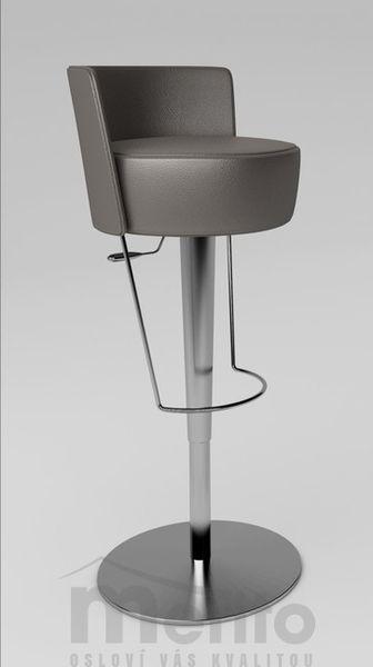 BONGO TS barová stolička výškovo nastaviteľná čalúnená Midj