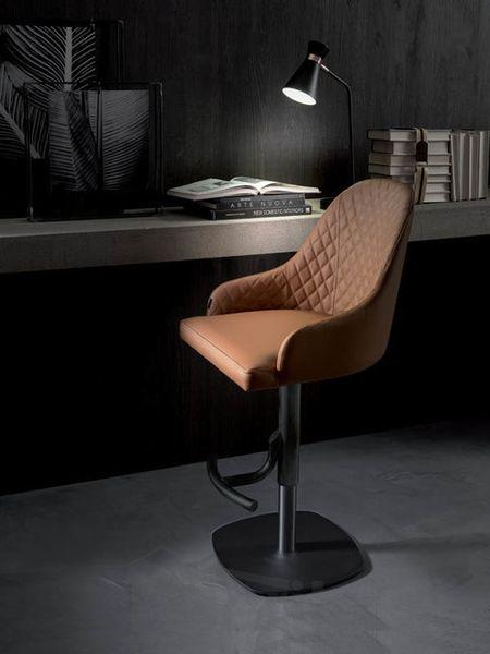 BRANDO barová stolička výškovo nastaviteľná otočná