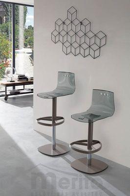 BUDDY barová stolička výškovo nastaviteľná otočná