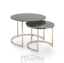 CIN dizajnový príručný stolík okrúhly P&C