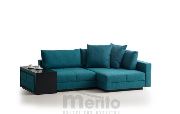 COCCO sedačka rohováFranz Fertig určená na každodenné spanie