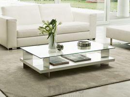 CORALLO konferenčný stolík dyha jaseň 120 x 65 cm P&C
