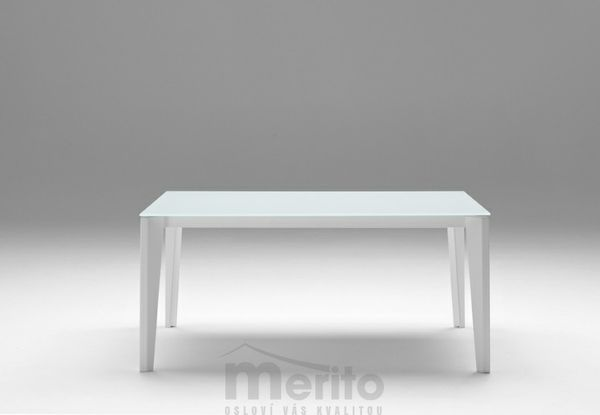 DIAMANTE Jedálenský stôl s rozťahovaním sklo/kov MIDJ