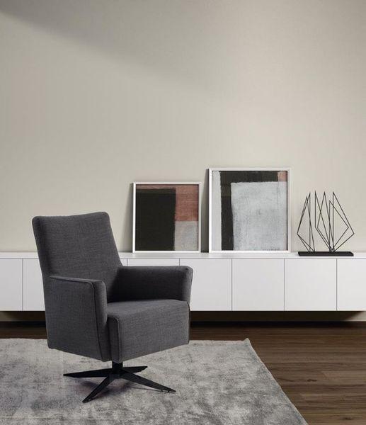 DORNO pohodlné kreslo na otočnej podonoži Recor