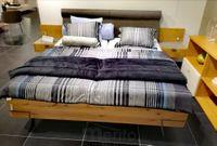 FENA posteľ dub beton, Hülsta
