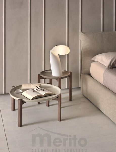GONG dizajnový konferenčný stolík 2 v 1 masív P&C