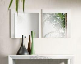 GOSSIP štvorcové zrkadlo dyha 60 x 60 cm P&C