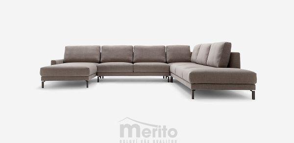 HS450 Hülsta sofa extrémne variabilná klasická luxusná sedacia súprava