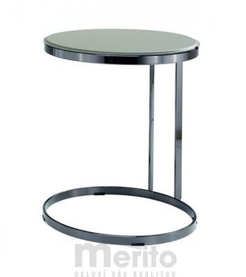 JOINT luxusný príručný stolík koža MIDJ