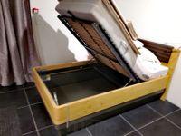 MULTIBED luxusná posteľ masív, dyha, lak, koža s úložným priestoromj